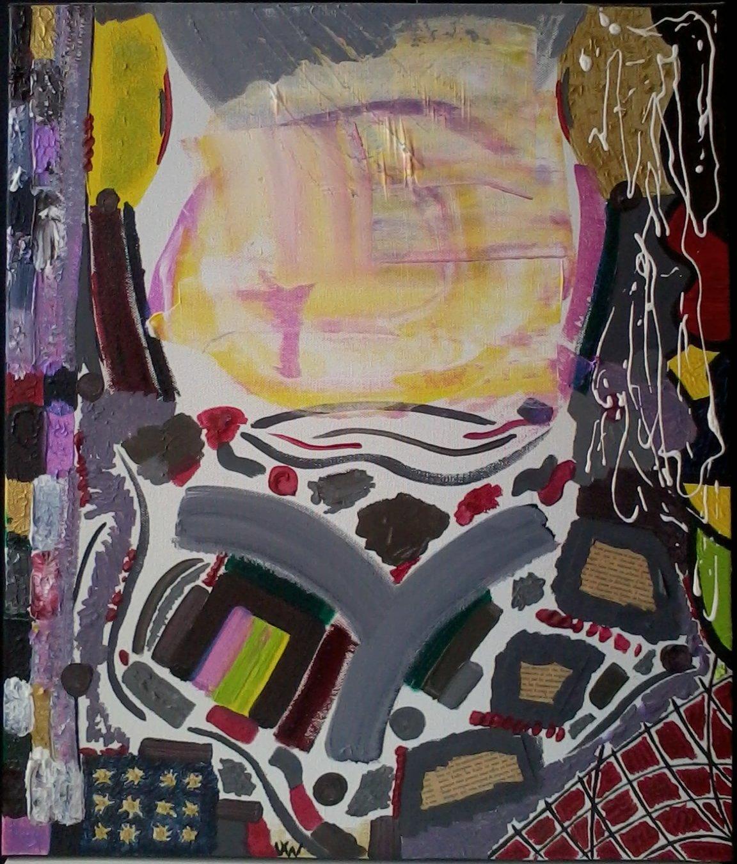 tableaux style abstrait